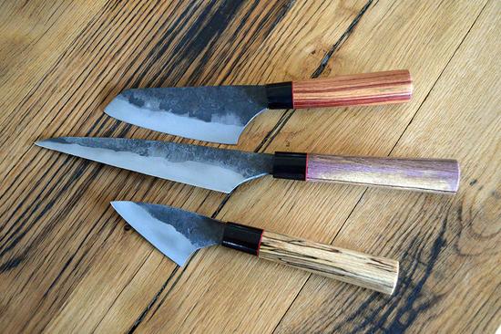 Couteaux de cuisine japonisant
