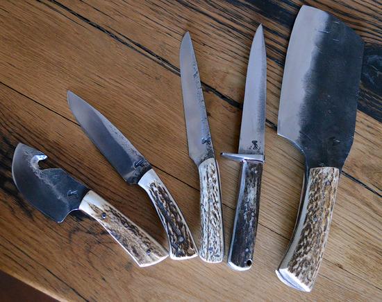 set de couteaux pour chasseurs