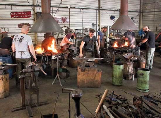 Titre de forgeron - coutelier de la forge